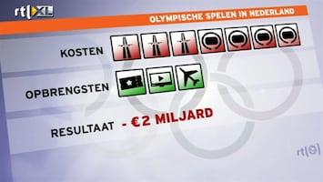 RTL Nieuws Olympische Spelen zouden 2 miljard kosten