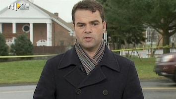 RTL Nieuws Motief schutter Newtown nog onduidelijk