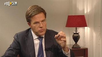 RTL Nieuws Rutte: ik heb de reacties onderschat