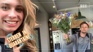 Sterren in Quarantaine: Loiza Lamers overspoeld met liefde