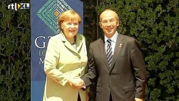 RTL Nieuws Merkel houdt Grieken aan bezuinigingsbeloften