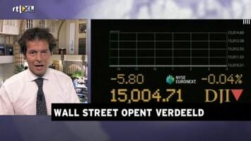 Rtl Z Opening Wall Street - Afl. 168