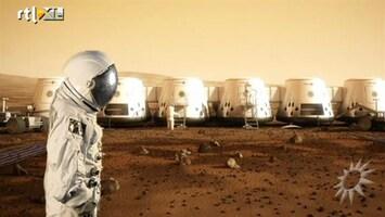 RTL Boulevard Tv-programma over mensen naar Mars