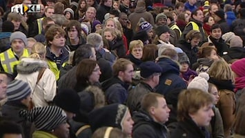 RTL Nieuws Uren wachten op een trein