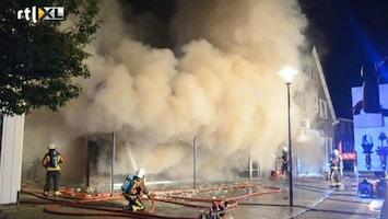 RTL Nieuws Evacuaties bij grote brand in Brummen
