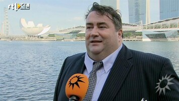 RTL Boulevard Marc van der Linden over staatsbezoek Singapore