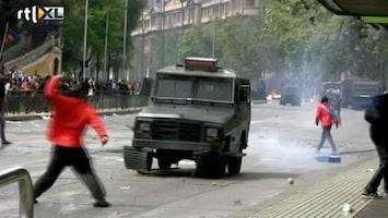 RTL Nieuws Protest Indianen Chili loopt uit de hand