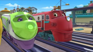 Chuggington Wilson and the paint wagon