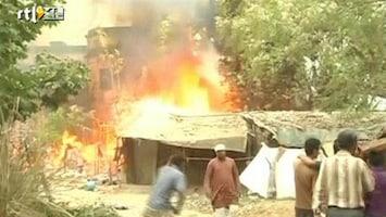 RTL Nieuws Inferno in sloppenwijk India