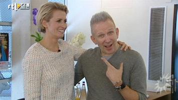 RTL Boulevard Interview Jean Paul Gaultier over tentoonstelling