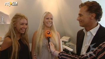 RTL Boulevard Controle borsten Barbie en Elize