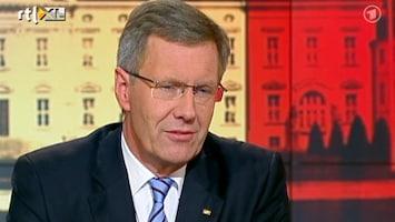 RTL Nieuws Duitse president gaat diep door het stof