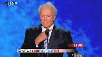RTL Nieuws Bijzonder harde aanval Clint Eastwood op Obama