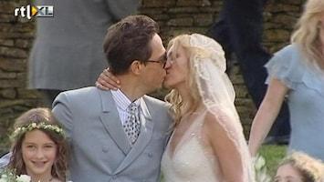 RTL Nieuws Kate Moss trouwt met rockster