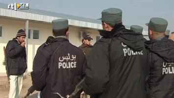 RTL Nieuws Afghanen straks baas over eigen politietraining