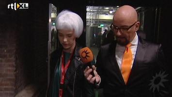 RTL Boulevard Op catwalktraining met Maik de Boer