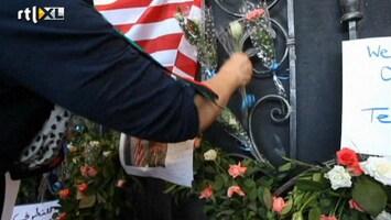 RTL Nieuws Libiërs gedenken Amerikaanse ambassadeur