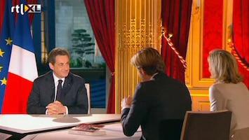 RTL Nieuws Sarkozy begint campagne op 8 zenders