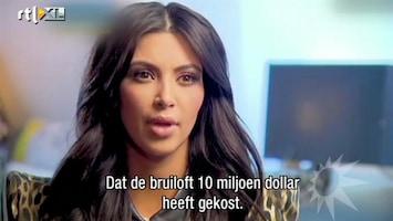 RTL Boulevard Kim Kardashian over scheiding