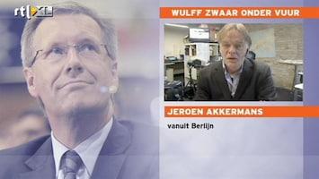 RTL Nieuws Negatieve reacties op interview Wulff
