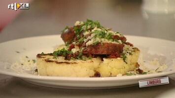 Topchef - Verse Chorizo Met Bloemkoolsteak En Couscous Garnituur