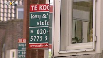 RTL Nieuws Meer huizen verkocht; prijzen blijven dalen