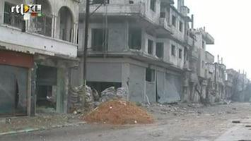 RTL Nieuws Syrische leger zet beschieting Homs voort