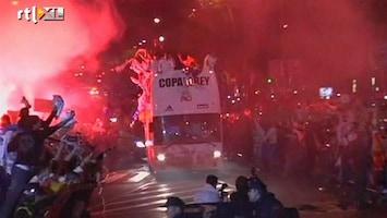 RTL Nieuws Copa komt onder bus Real Madrid