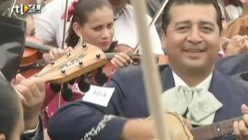 RTL Nieuws Mariachi-record weer terug in Mexico