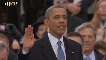 Editie NL Obama legt eed af voor tweede termijn