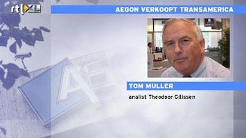 RTL Z Nieuws Tom Muller: goede deal Aegon