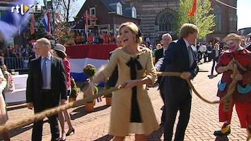 RTL Nieuws Koningsspelen en koningslied voor inhuldiging