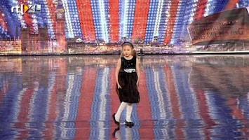 Het Beste Van Got Talent Worldwide Olivia laat iedereen even schrikken