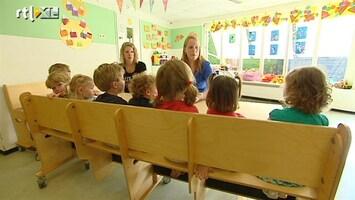 RTL Nieuws Fors minder gebruik van kinderopvang