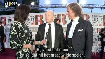 RTL Boulevard André Rieu krijgt 'Classic Brit Award'
