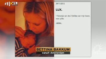 RTL Boulevard Bettina over bevalling en baby Lux