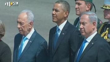 RTL Nieuws Obama voor het eerst op bezoek in Israël