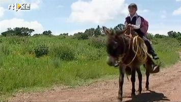 RTL Nieuws Op de ezel naar school