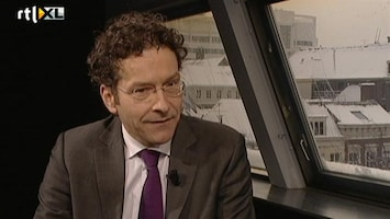 RTL Nieuws Dijsselbloem: 'Nagedacht over voorzitterschap Eurogroep'