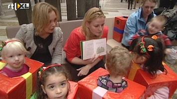 RTL Nieuws Vakbonden in actie tegen te dure kinderopvang