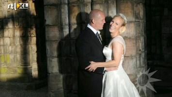 RTL Boulevard Koninklijk huwelijk Zara en Mike
