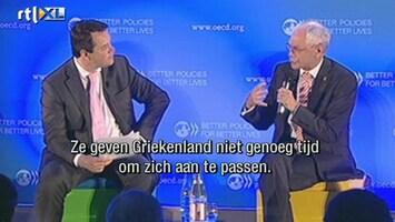 RTL Z Nieuws Van Rompuy wil geen herstructurering schulden