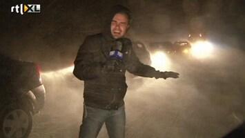 RTL Nieuws Chaos door sneeuwstorm Roemenië