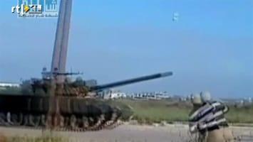 RTL Nieuws Tanks ingezet tegen protest Syrië