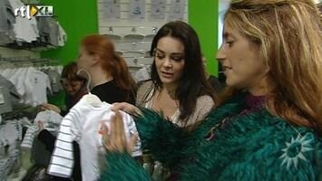 RTL Boulevard Danie Bles en Kim-Lian op de 9 maanden beurs