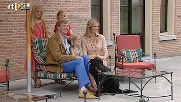 RTL Boulevard Hond Skipper bij fotosessie Oranjes