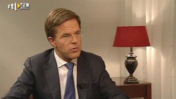 RTL Nieuws Rutte: We waren slecht voorbereid op commotie