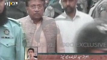 RTL Nieuws Oud-president Musharraf in de boeien