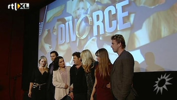 RTL Boulevard Perspresentatie van de nieuwe serie: Divorce