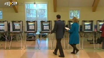 RTL Nieuws 120 miljoen Amerikanen naar de stembus